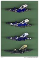 AIR FRANCE - UTA *** Lot De 4 Pin's Differents *** 1051 - Avions