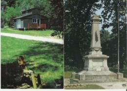 LABRUGUIERE. 2 CP Chalet De Vacances Domaine D'En Laure - Monuments Aux Morts - Labruguière