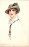 MAUZAN - Portrait De Femme - Mauzan, L.A.