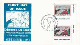 PHILIPPINES - 1984 - FDC - Notre Dame Du Rosaire - Philippines
