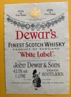 """11644 - Dewar's """"White Label"""" - Whisky"""