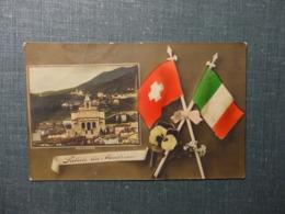 Saluti Da Mendrisio Panorama 1911 (6129) - TI Tessin