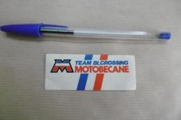 Autocollant - Marque MOTOBECANE Team BLCrossing - Autocollants