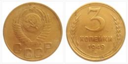 USSR Soviet Russia 1949 - 3 Kopek 1949 /VF - Russland