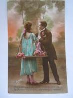 Koppel Romantisch Couple Romantique Schommel Balançoire Edit Irisa 3364 Circulée Jauche - Couples
