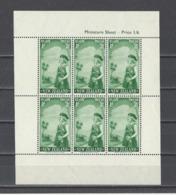 NOUVELLE-ZELANDE . YT  Bloc N° 3/4  Neuf *  1958 - Blocs-feuillets