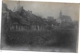 Jamioulx NA10: Explosion Des Munitions Novembre 1918. Rue De Thuillies ( Photo-carte ) - Ham-sur-Heure-Nalinnes