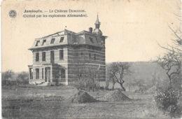 Jamioulx NA11: Le Château Demoulin ( Détruit Par Les Explosions Allemandes ) - Ham-sur-Heure-Nalinnes