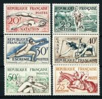 Francia Nº 960/5 Nuevo* Cat.53€ - Francia