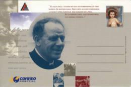 ARGENTINE - Entier Postal Neuf - Padre Mario Pantaleo - Entiers Postaux