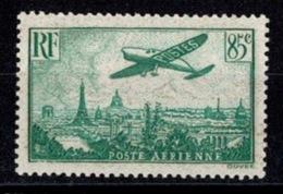 France Poste Aérienne - Avion Survolant Paris - YT N°8 - Neuf Sans Charnière - Airmail