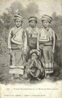 Indochina, LAOS, Types De Femmes Lu à Muong-Hou, Native Girls (1899) Postcard - Laos