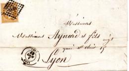 Lot De 9 Lettres Et Carte Postale Au Départ De Lyon ( 9 Scans) - Altri