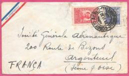 Lettre 1930 Rio De Janeiro Argenteuil Aeropostal Correio Aereo Aeropostale - Poste Aérienne