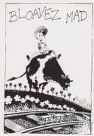 LIDWINE  Ed Imag - Bande Dessinee Couverture De LDC N°71 Bloavez Mad Vache Train - CPM 10,5x15 TBE 1995 Neuve - Autres Illustrateurs