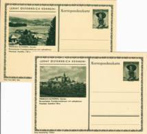 AUTRICHE - Lot De 2 Entiers Postaux - Treibach-Althofen - LERNT ÖSTERREICH KENNEN ! - Stamped Stationery