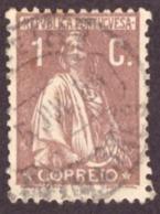 """Portugal 1917-20 """" Ceres """" 1c - 1910-... République"""