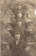 Old Photo - Postcard.High School Girls From Macedonia - Anonymous Persons