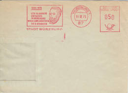 ALLEMAGNE - 1975 - Fragment D'enveloppe - Röntgen - Rayons X - [7] Federal Republic