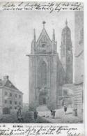 AK 0232  Alt-Wien - Schule Und Kirche Zu St. Maria Am Gestade Um 1899 - Chiese
