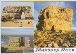 Postcard Marsden Rock South Shields Co Durham Tyne & Wear [ Sea Stack / Geology Interest ] My Ref  B23735 - Durham