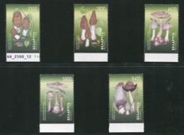 SALE  Belarus 1988 Mi 280-284 Mushroom MNH - Pilze