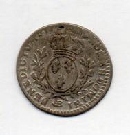 FRANCE, 12 Sols (1/10 Ecu), 1726-27, Silver, KM #39.3 - 987-1789 Royal