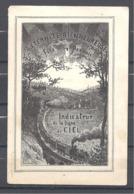 Image Pieuse Indicateur De La Ligne Du Ciel   4 Pages - Images Religieuses