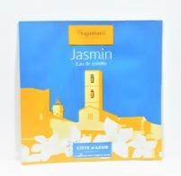 échantillons De Parfum  POCHETTE JASMIN EDT  De  FRAGONARD   2 Ml - Echantillons (tubes Sur Carte)