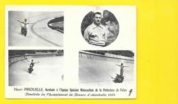 Henri PIROUELLE Acrobate Moto Police - Motos