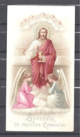 Image Pieuse Première Communion 6 Mai 1894 Bar Le Duc - Images Religieuses