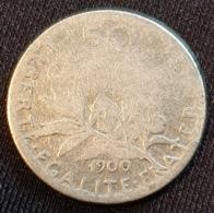 FRANCE- 50 Centimes 1900 - Frankreich