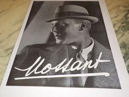 ANCIENNE PUBLICITE  LE CHAPEAU MOSSANT 1935 - Afiches