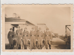 PHOTO ORIGINALE GUERRE 1939  1945 SOLDATS ALLEMAND LA GARDE - 1939-45