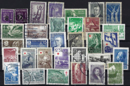 FINLAND 1945- 1955 Coleection Of 31 Stamps Used - Finland