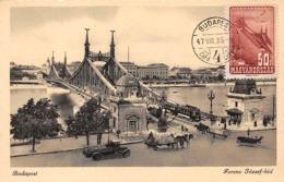 1947 - Carte Maximum - N°151210 - Hongrie - Pont François Joseph - Cachet - Budapest - Hungary