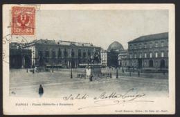 15104 Napoli - Piazza Plebiscito E Pretettura F - Napoli