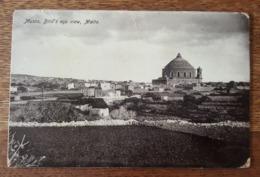Musta, Bird's Eye View, Malta - Armée Navale, Cachet Marine Française, TAD Port Said - Malte