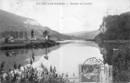 CPA De BAUME-les-DAMES (Doubs) - Bassin De Lonot. Edition Janier. Ciculée En 1911. Bon état. - Baume Les Dames