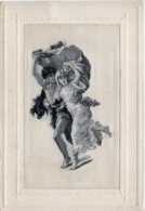 Carte Brodées Soie  - Femmes (116396) - Embroidered