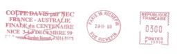 1999 EMA Tennis :Coupe DAVIS ;finale Du Centenaire .Nice - Tennis