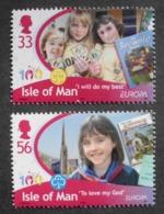 Insel Man     Kinderbücher  Cept    Europa  2010  ** - Europa-CEPT