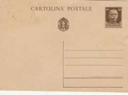 INTERO POSTALE C.30 NUOVO (IX586 - 1900-44 Vittorio Emanuele III