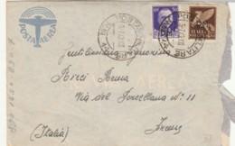 LETTERA 1943 50+50 PA/PM-PM14 MONTENEGRO (IX540 - 1900-44 Victor Emmanuel III