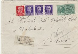 RACCOMANDATA 1942 3X50+75+1,25 ESPRESSO-TIMBRO NEUTRO (IX517 - 1900-44 Vittorio Emanuele III