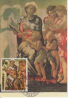 Carte-Maximum PARAGUAY N°Yvert 1449 / Michel Ange / La Vierge Et Les Anges - Paraguay