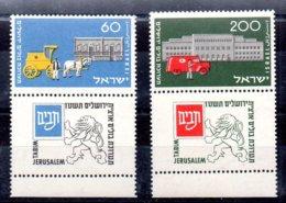 Israel Serie Nº Yvert 80/81 ** - Nuevos (con Tab)