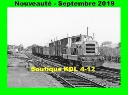 AL 602 - Train - Locotracteur CFD N° 207 En Gare De DRACY-SAINT-LOUP - Saône Et Loire - CFD Morvan - Trains