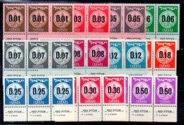 Israel Series Nº Yvert 164/73*3 ** - Nuevos (con Tab)