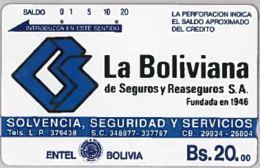 PHONE CARD-BOLIVIA (E46.10.8 - Bolivië